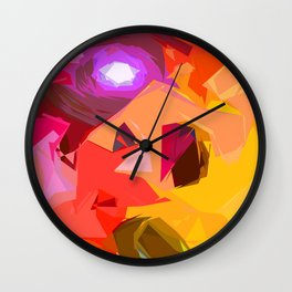 Colour Inflation Wall Clock