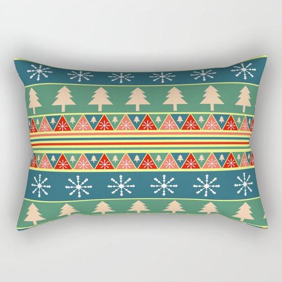 Christmas pattern II Rectangular Pillow