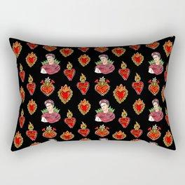 Sacred Hearts and Frida Rectangular Pillow