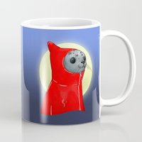seal Mugs featuring Hooded Seal by Mirco
