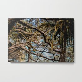 Apocalypse: Nature vs Industry (horizontal) Metal Print