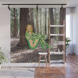 Green Mother Wall Mural