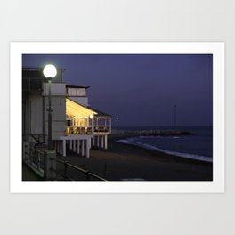 Varazze by night Art Print