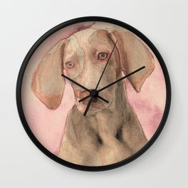Pointer dog Wall Clock