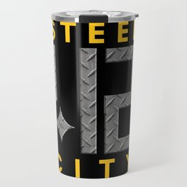 Steel City 412 Pittsburgh Design Gifts Travel Mug