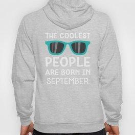 Coolest People in September T-Shirt Dgv2q Hoody