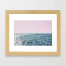 Dreams of the Sea Framed Art Print