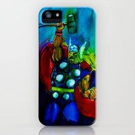 Thunder God (Thor) iPhone Case