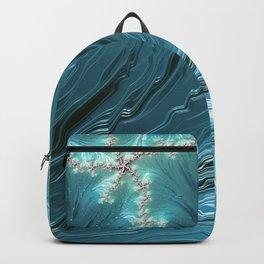 Big Wave Fractal Art Backpack