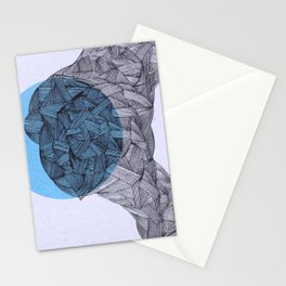 - and the moon - Stationery Cards