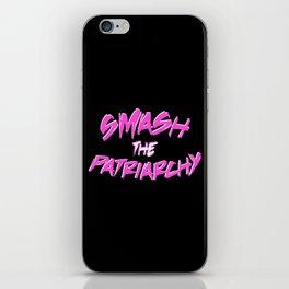 Smash the Patriarchy iPhone Skin