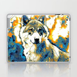 Impressive Animal - Wolf 2 Laptop & iPad Skin