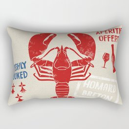 Le St-Jacques Lobster Shack Rectangular Pillow