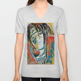Colors of a Hero Unisex V-Neck