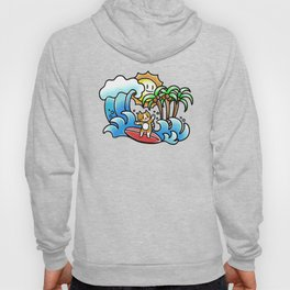 Surf cat Hoody