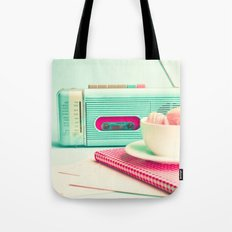 Radio and Tape Stories  Tote Bag