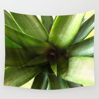pineapples Wall Tapestries featuring Pineapples by UMe Images