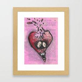 27 Fevrier Framed Art Print