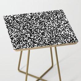 noisy pattern 14 Side Table