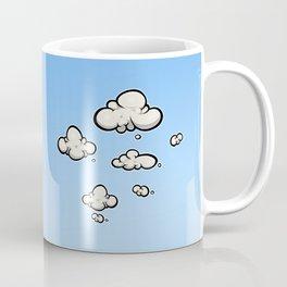 Clouds in a Blue Sky. Coffee Mug