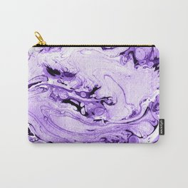 Violet Marbling drawing brush Carry-All Pouch