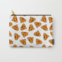 halloween poo emoji Carry-All Pouch