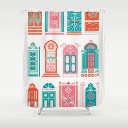 Moroccan Doors – Watermelon Palette Shower Curtain
