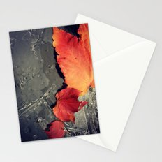 First Frost is Coming soon Stationery Cards