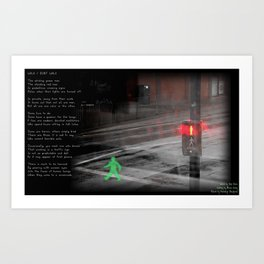 Walk/Don't Walk Art Print