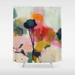 paysage abstract Shower Curtain