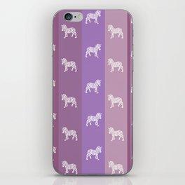 Zebra Pattern iPhone Skin