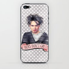 Boys Don't Cry iPhone & iPod Skin