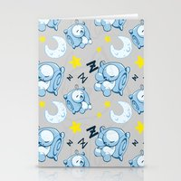 cryaotic Stationery Cards featuring Cryaotic Pj Pants Design by xWishCraftx/Mischakins