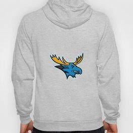 Bull Moose Head Mascot Hoody