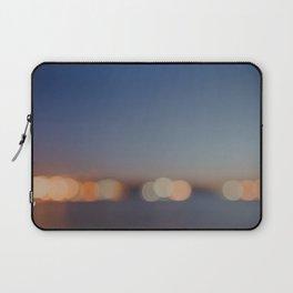 Circles of Light Laptop Sleeve