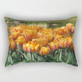 Les Tulipes Rectangular Pillow