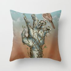 Dawn of the Living Throw Pillow