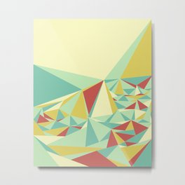 Facet - Bloom Tone Metal Print