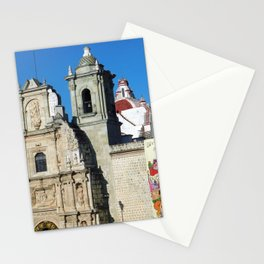 Historic Church Oaxaca City Mexico Stationery Cards