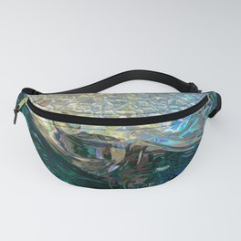 Sea Nymph Abstract Fanny Pack