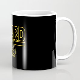 Beard Wars Funny Sci-Fi Design Coffee Mug