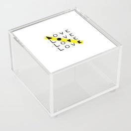LOVE yourself - others - all animals - our planet Acrylic Box