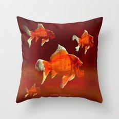 SKU-OLDEN FISH 037 Throw Pillow