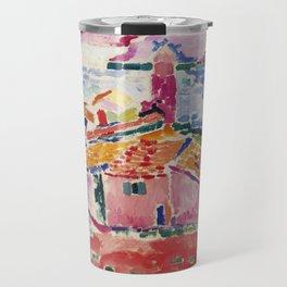 View of Collioure - Henri Matisse - Exhibition Poster Travel Mug