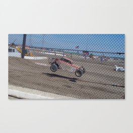 Flying Food Canvas Print