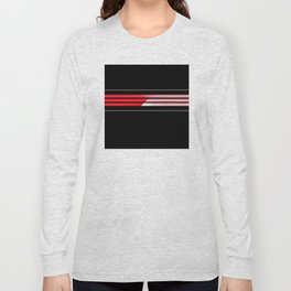 Team Colors 5...red,gray Long Sleeve T-shirt