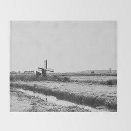 Wind Farm Throw Blanket