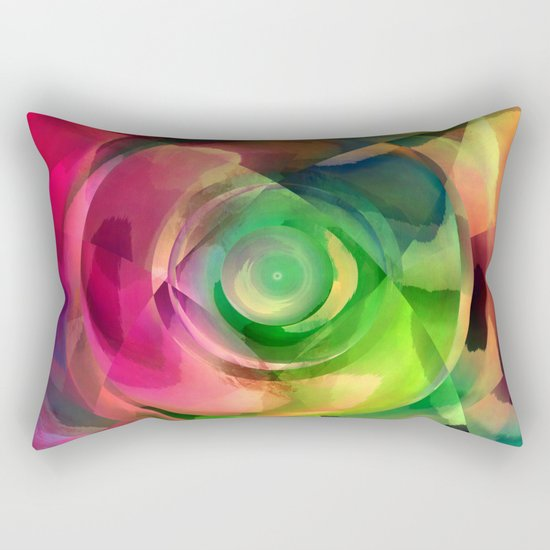 Multicolored abstract no. 14 Rectangular Pillow