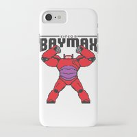 8bit iPhone & iPod Cases featuring BAYMAX (8BIT) by Akiwa