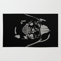 vader Area & Throw Rugs featuring Vader by WaXaVeJu
